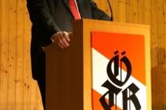 2011-12-03 Begrüßung durch Obmann Gerald Stutz