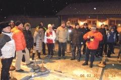 2012-02-06 Eröffnung durch Obmann Gerald Stutz pünktlich um 18.30