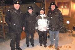 2012-02-06 Moarschaft Leningrad Cowboys - heuer nicht im Teich gelandet