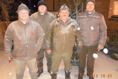 2012-02-06 Moarschaft Jäger - auch bei diesem Sport zielsicher