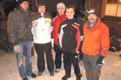 2012-02-06 Moarschaft Dienstagriege - mit Ersatzspieler ausgerüstet