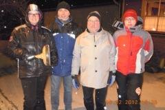 2012-02-06 Moarschaft Abteilung Bau - mit Damenverstärkung