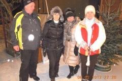 2012-02-06 Moarschaft Taubenstessl - viele Krankheits-Ausfälle, daher wenig Zusammenspiel möglich