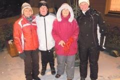 2012-02-06 Moarschaft Kallhamer Damenriege - heuer mit einer Moarschaft vertreten