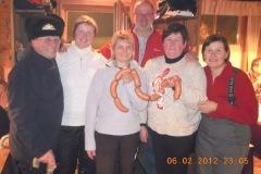 2012-02-06 Der Knackerkranz bleibt bei der Kallhamer Damenriege