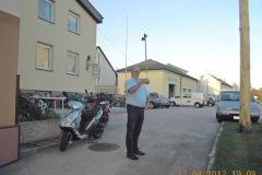 2012-04-27 Der Obmann ist heute auch Stabführer
