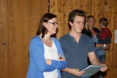 2012-06-06 Die neuen Jugendwarte Doris Schöberl und Jürgen Ruttinger