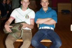 2012-06-06 Kampfrichter Michael Baumgartner und Turnwart-Stv. Michael Ernst