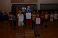 2012-06-06 1. Daniel Mayr, 2. Julian Hohensinn, 3. Paul Burgholzer