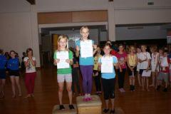 2012-06-06 1. Katharina Schaur, 2. Anja Stelzhamer, 3. Lisa Mayr