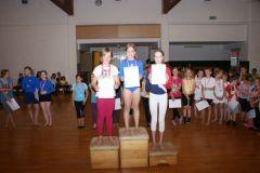 2012-06-06 1. Celine Liovnik, 2. Anna Schaur, 3. Emma Schiebold