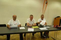 2012-07-10 Unsere SZ-Chefs als Kampfrichter beim Vereinswettturnen
