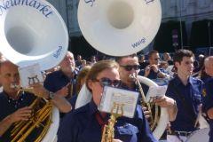 2012-07-13 Herausragend - unsere Sousaphone beim Großkonzert