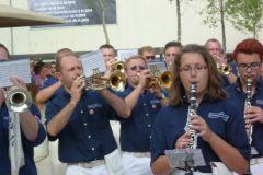 2012-07-13 Die Neumarkter Spielleute beim Großkonzert
