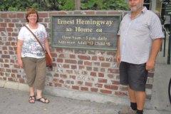 2012-11-01 Besichtigung des Wohnhauses von Ernest Hemingway in Key West