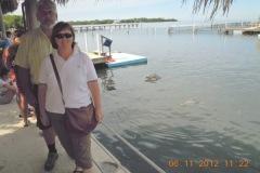 2012-11-01 Besuch beim Enkel von Flipper in Marathon