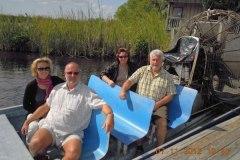 2012-11-01 Airbootfahrt in die Everglades