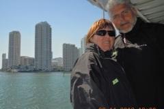 2012-11-01 Die Skyline von Miami Beach vom Schiff aus