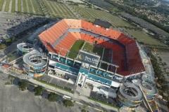 2012-11-01 Das Sun Life Stadium ist die Heimspielstätte der Miami Dolphins (American Football)