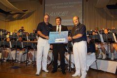 2013-05-04 Ein Scheck vom SPK-Regionalfonds - DANKE!