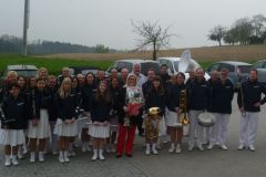 2014-04-05 Der SZ gratuliert Saxophonistin Gitti