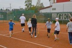 2014-06-25 Nachwuchs mit Trainer Lionell