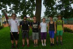 2014-08-12 Abmarsch der Zehnkämpfer