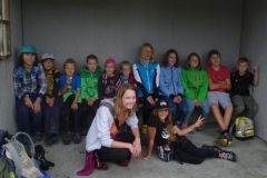 2014-08-12 Unsere fleißigen Nachwuchsjahnwanderer