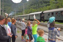 2014-08-12 Der Kaiserzug ist unterwegs zum Kaiserfest