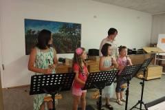 2015-06-26 Ensemble der Anfängergruppe