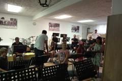 2015-06-26 Das Probelokal war ziemlich voll