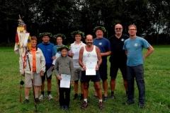 2015-08-13 Unsere Sieger mit Turnwarten und Obmann