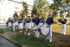2015-08-22 Unser ehemaliger Trommler Roland dirigiert gleich selbst