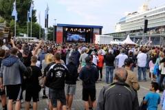 2016-06-24 EM Public Viewing mit 10000 Fans und TUI Mein Schiff