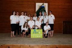 2016-07-13 1. Platz für die Vereinswettturnerinnen