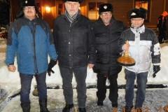 2017-01-08 Moarschaft Leningrad Cowboys mit Ersatzspieler Roland Stutz