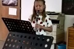 2017-06-23 Klarinette: Lucia Bremberger