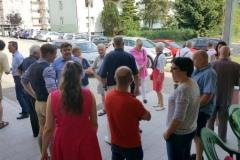 2017-07-07 Empfang vor dem Turnerheim