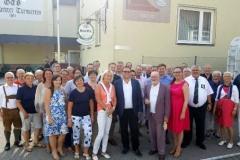 2017-07-07 Gruppenfoto vor dem Haus Laboe