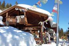 2019-03-25 Die Öli-Lodge bei Sonnenschein
