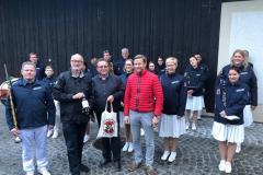 2019-04-30 Ständchen für BGM Herbert Ollinger zum 50er