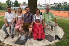 2019-07-01 Familie Leeb mit Gernot und Schera