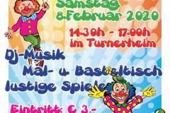 2020-02-08 Plakat 17. Neumarkter Kinderfasching