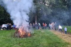 2020-06-20 Der Holzstoß brennt