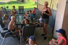 2020-07-30 Bewegte Ferien - Pfeil, Bogen und ein Ziel