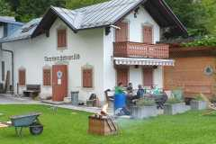 2020-08-11 Dienstagriege wandert um Innsbruck