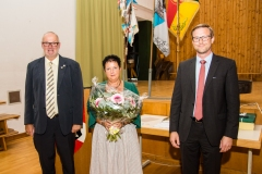 2020-09-25 Danke für zwei Jahre Säckelwartin Irene Ratzenböck