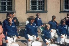 1975-08-24 Konzertreise Spielmannszug nach Laboe, Auftritt in Bamberg