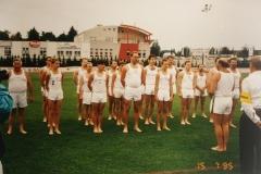 1995-07 Landesturnfest Ried, Vereinswettturnen Turner