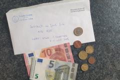 2020-09-25 16 EUR und 86 Cent Bargeld von 2020